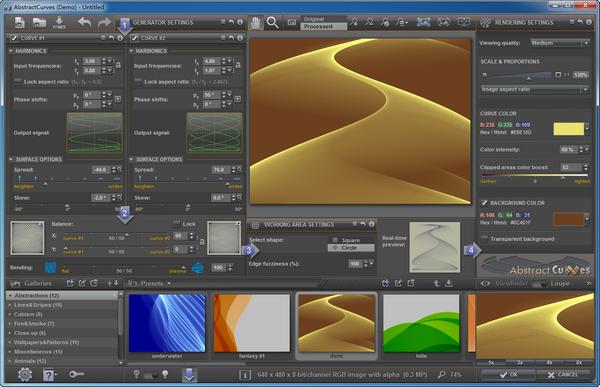 AbstractCurves(曲线图制作软件)下载