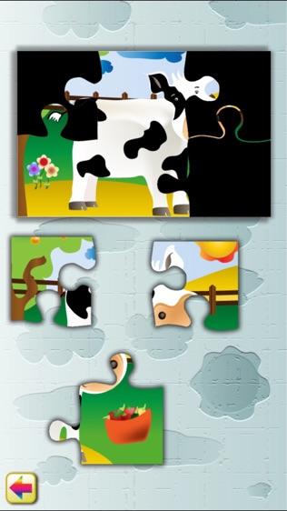 农场动物拼图游戏软件截图0