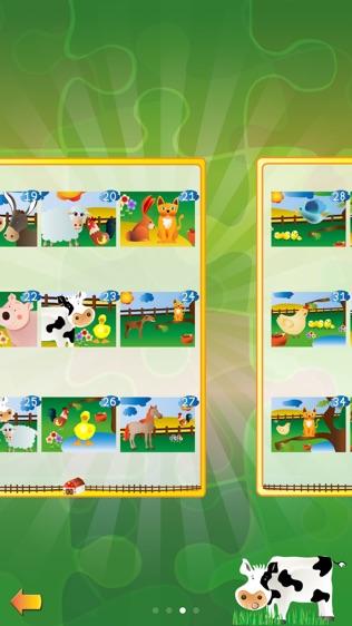 农场动物拼图游戏软件截图1