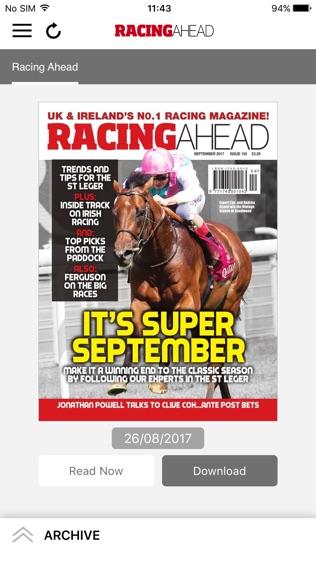 Racing Ahead Magazine软件截图0