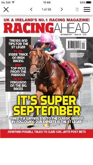 Racing Ahead Magazine软件截图1