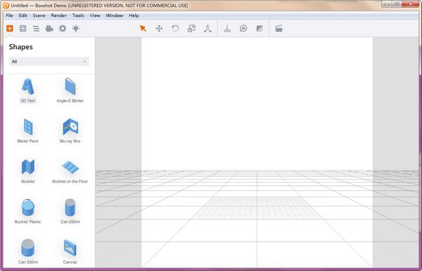 Boxshot Demo(3D模型设计)下载