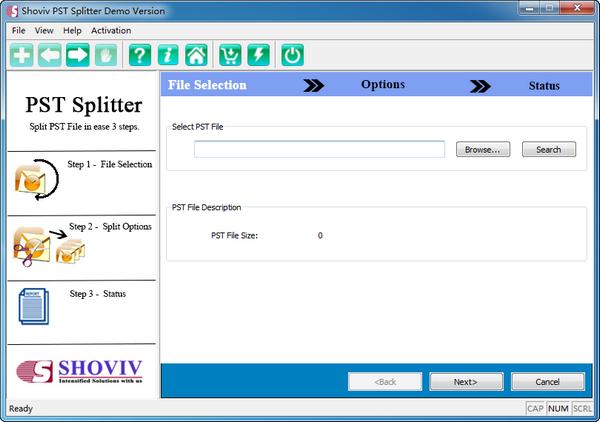 Shoviv PST Splitter(PST文件拆分)下载