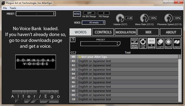 AlterEgo(音乐合成软件)下载