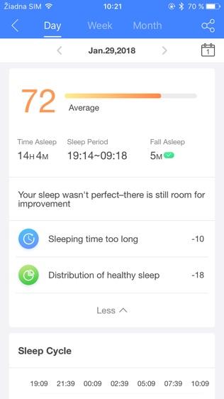 AHB Sleep Tracker软件截图1