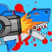 机器枪鲨鱼双重进攻 �