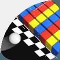 彩色躲避球球3D