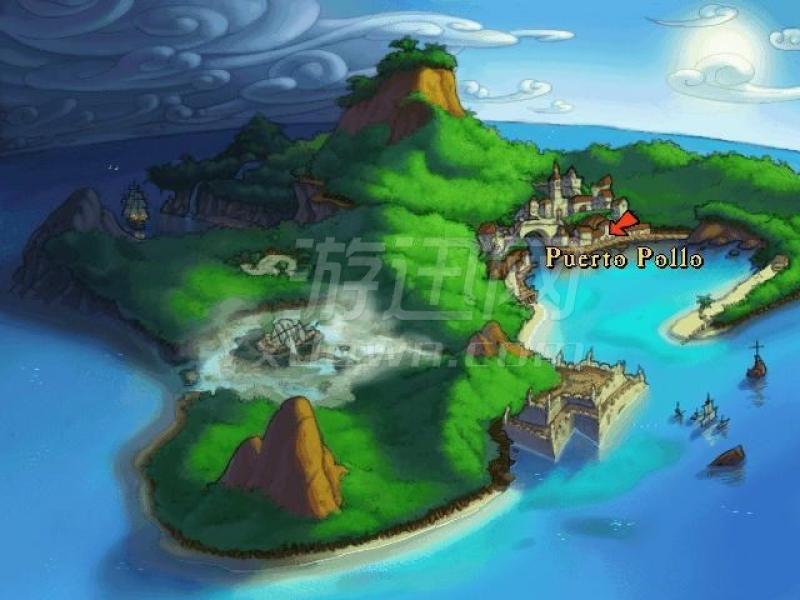 猴岛小英雄3:猴岛的诅咒 英文版下载
