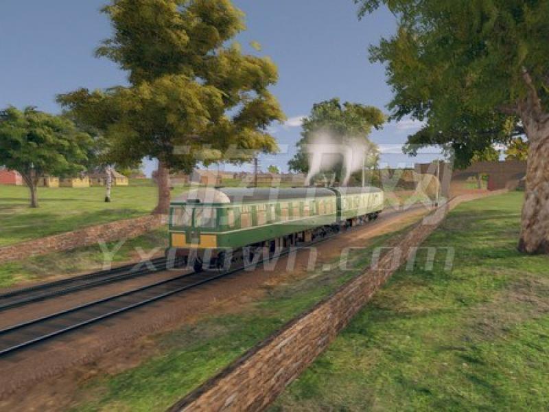 内燃机车模拟 英文版下载