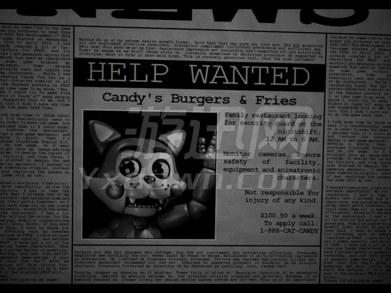 Candy的午夜后宫 英文版下载