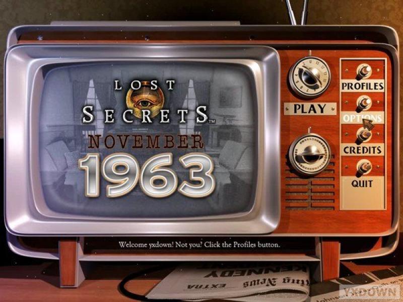 丢失的秘密:1963年11月 英文版下载
