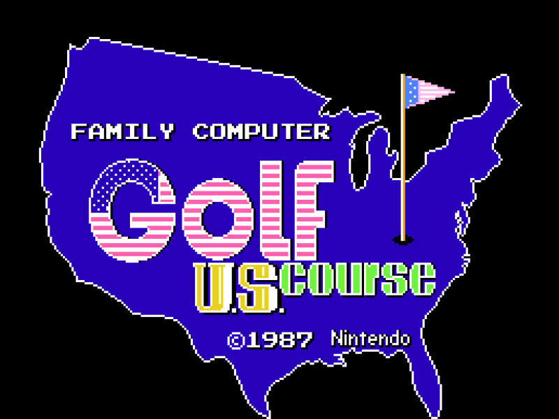 高尔夫球美国赛道 FC游戏英文版下载