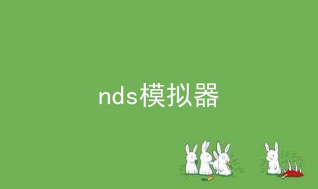 nds模拟器软件合辑
