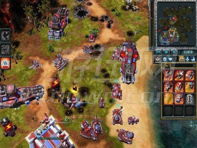 红色警戒3龙霸天下OV2.8终极版 中文版下载