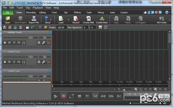 MixPad(多轨混音软件)下载
