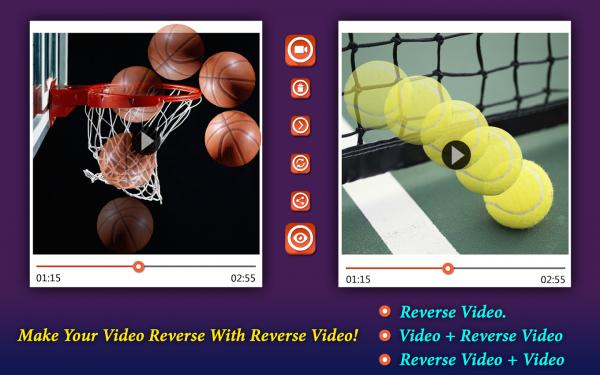 反向视频编辑器软件截图2