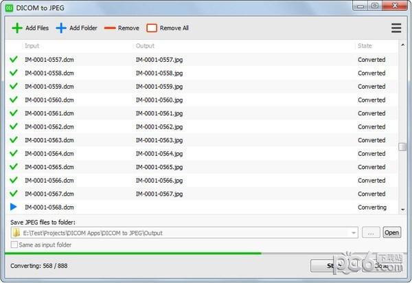 DICOM to JPEG(dicom转jpg软件)下载