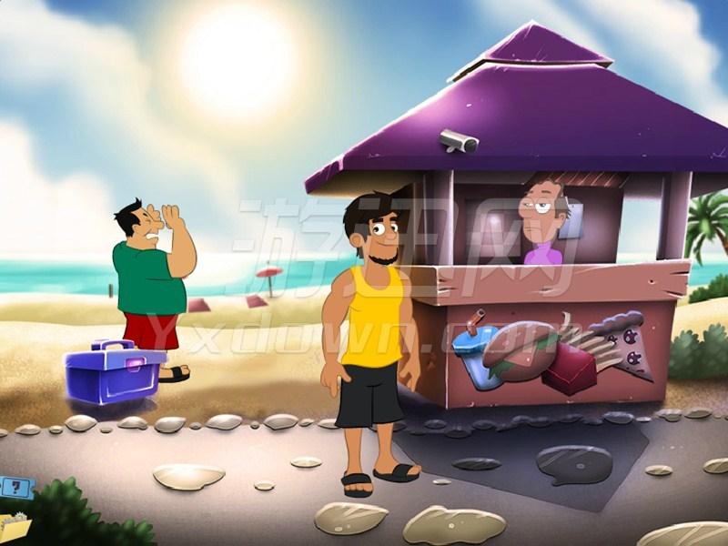 海滩趣事 英文版下载
