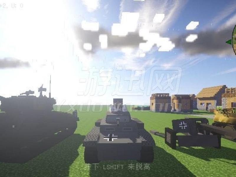 我的世界第二次世界大战整合包 中文版1.7.10下载