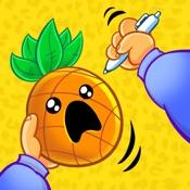 鳳梨筆兒蘋果筆