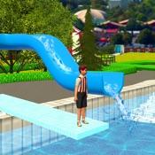 水上公园滑梯