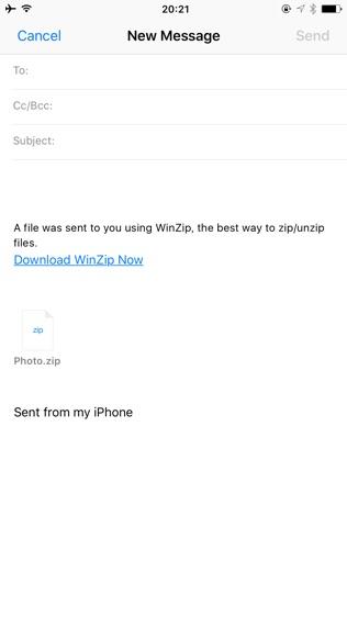 WinZip软件截图2
