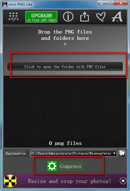 mini PNG Lite(PNG压缩软件)下载