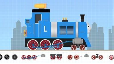 儿童游戏积木火车软件截图1