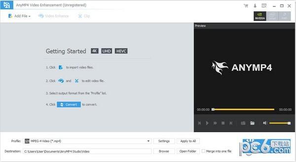 AnyMP4 Video Enhancement(视频增强软件)下载