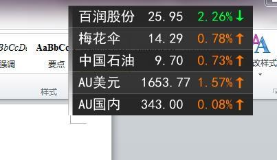 微润桌面股票下载