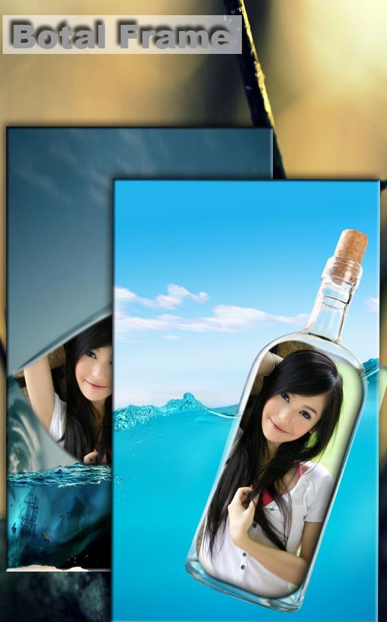 照片上瓶子软件截图0