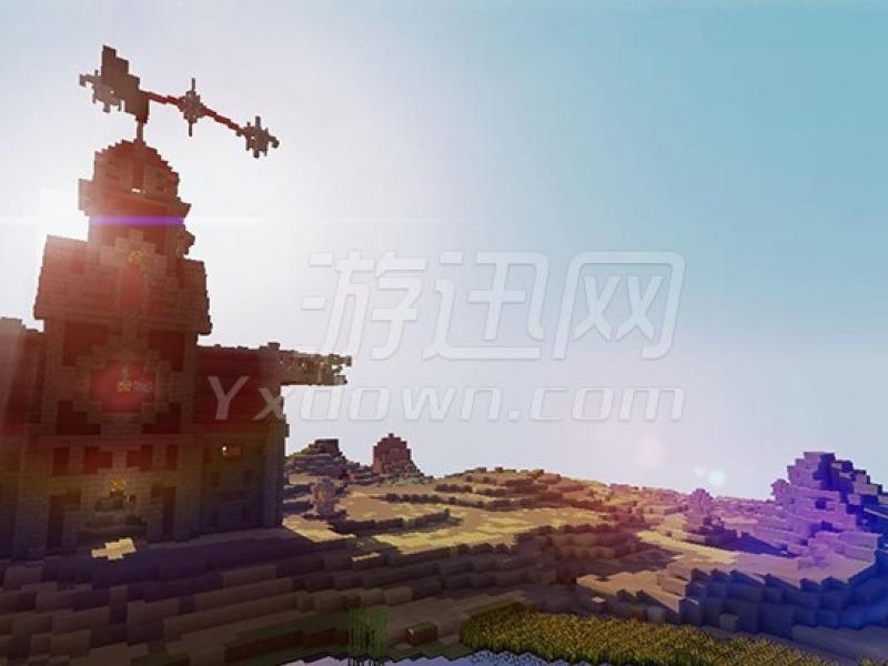 我的世界1.8纯净光影整合包 中文版下载