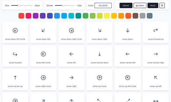 Tabler Icons(SVG图标集合包)下载