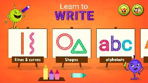 孩子们学习写作