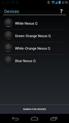 Nexus q控制软件截图1