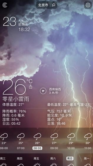 天气°软件截图1