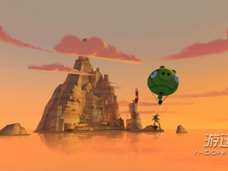 愤怒的小鸟VR:猪猪岛 英文版下载