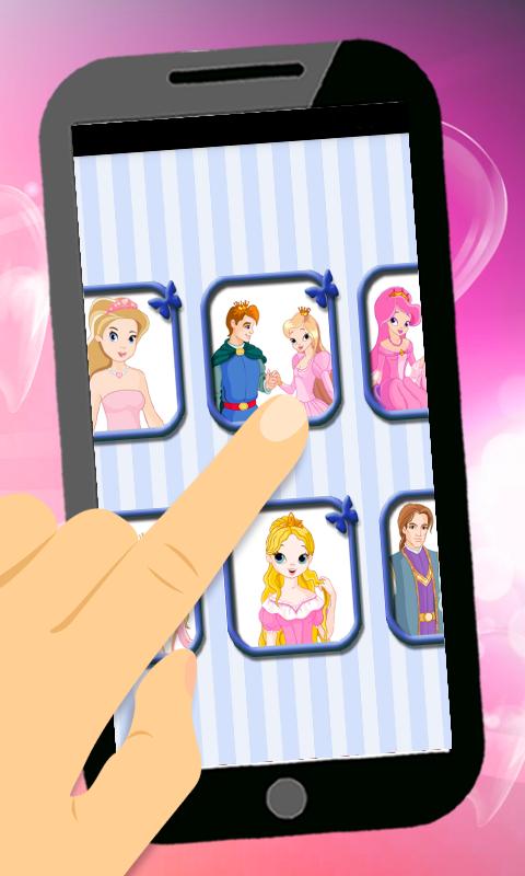儿童公主涂色游戏软件截图0