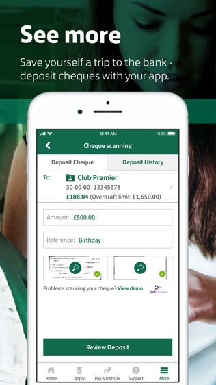 Lloyds Bank Mobile Banking软件截图2