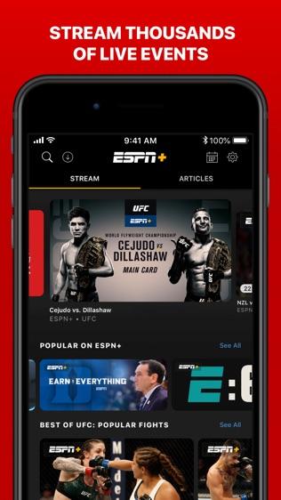 ESPN SportsCenter软件截图2