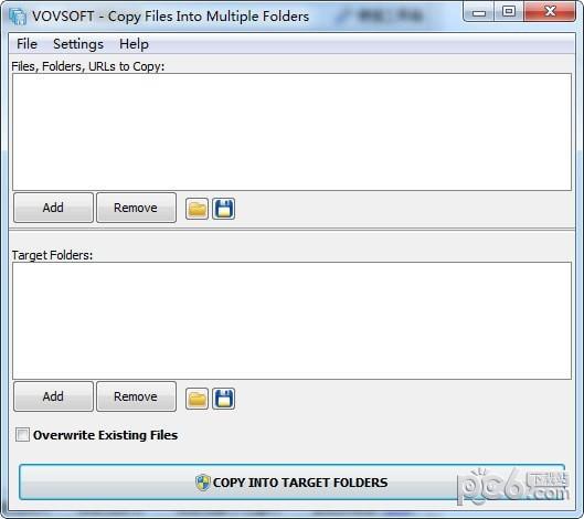 Copy Files Into Multiple Folders(文件管理软件)