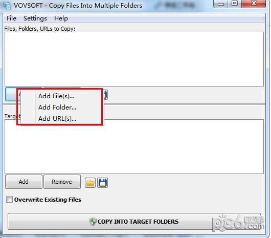 Copy Files Into Multiple Folders(文件管理软件)下载