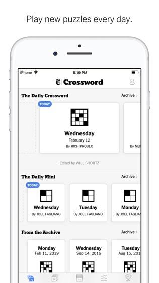 NYTimes Crosswords软件截图1