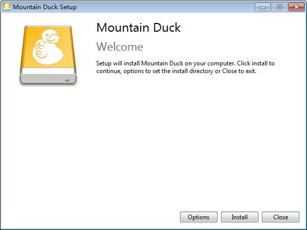 Mountain Duck(云存储空间本地管理工具)