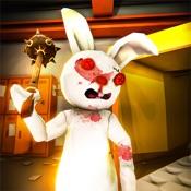 兔子令人毛骨悚然的房子