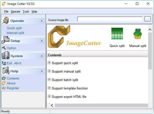Image Cutter(图像分割软件)