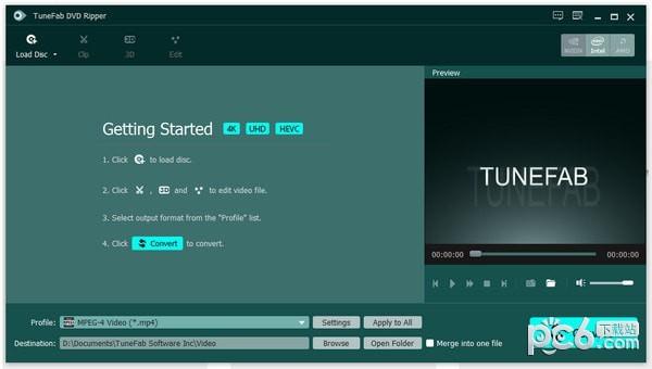 TuneFab DVD Ripper(DVD格式转换器)