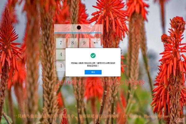 动态密码屏幕锁