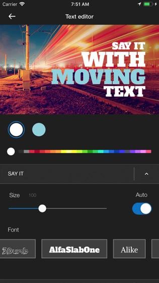 WeVideo Movie & Video Editor软件截图0