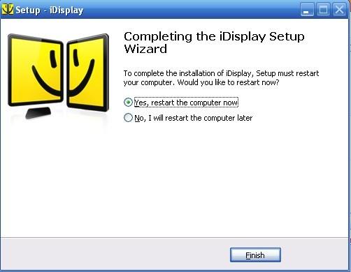 iDisplay Desktop电脑端